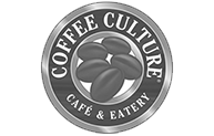 coffee culture cafe & eatery logo - off state